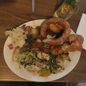 King sized roast at Toby Carvery Northampton