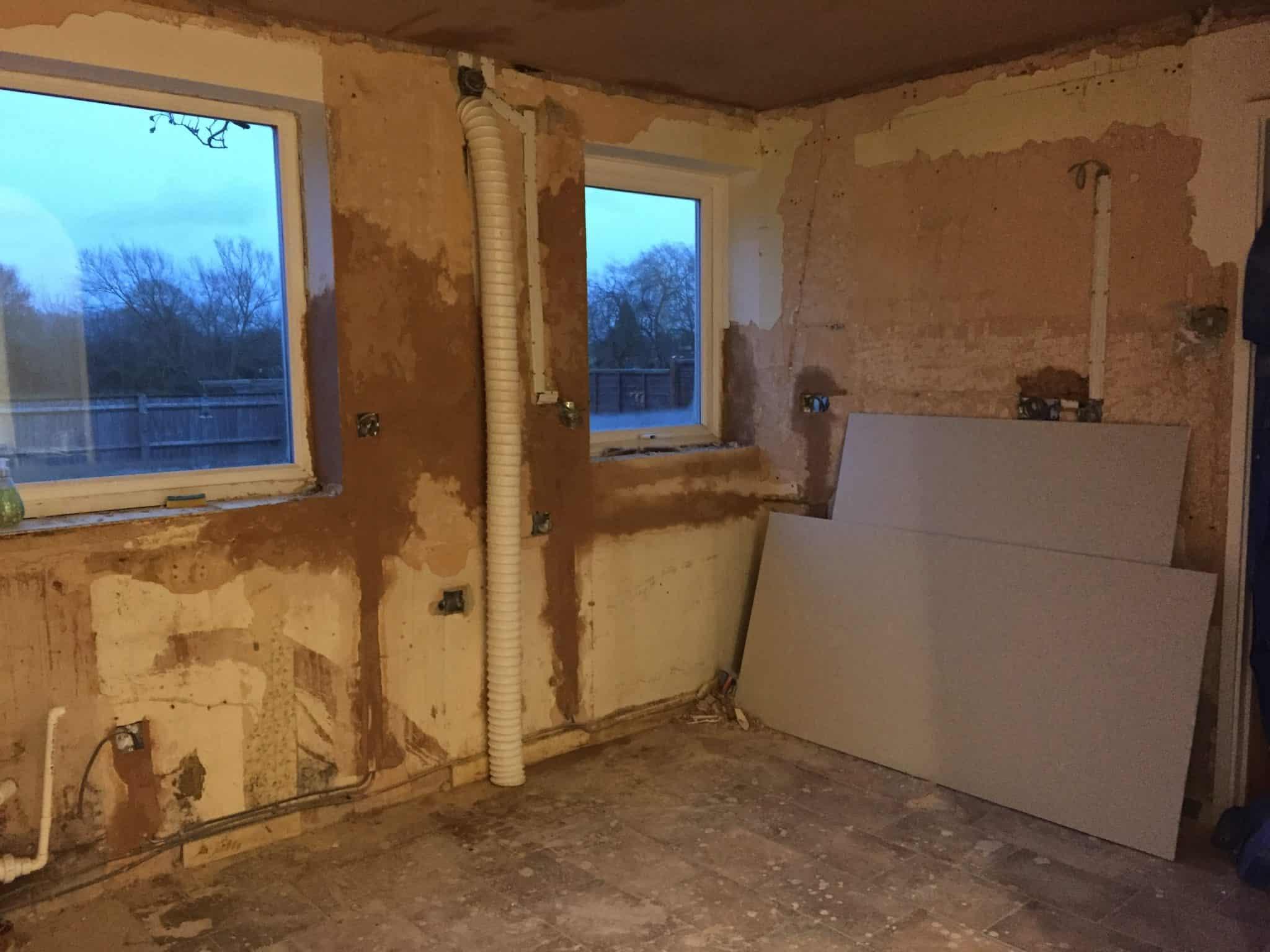Kitchen Renovation Day 3