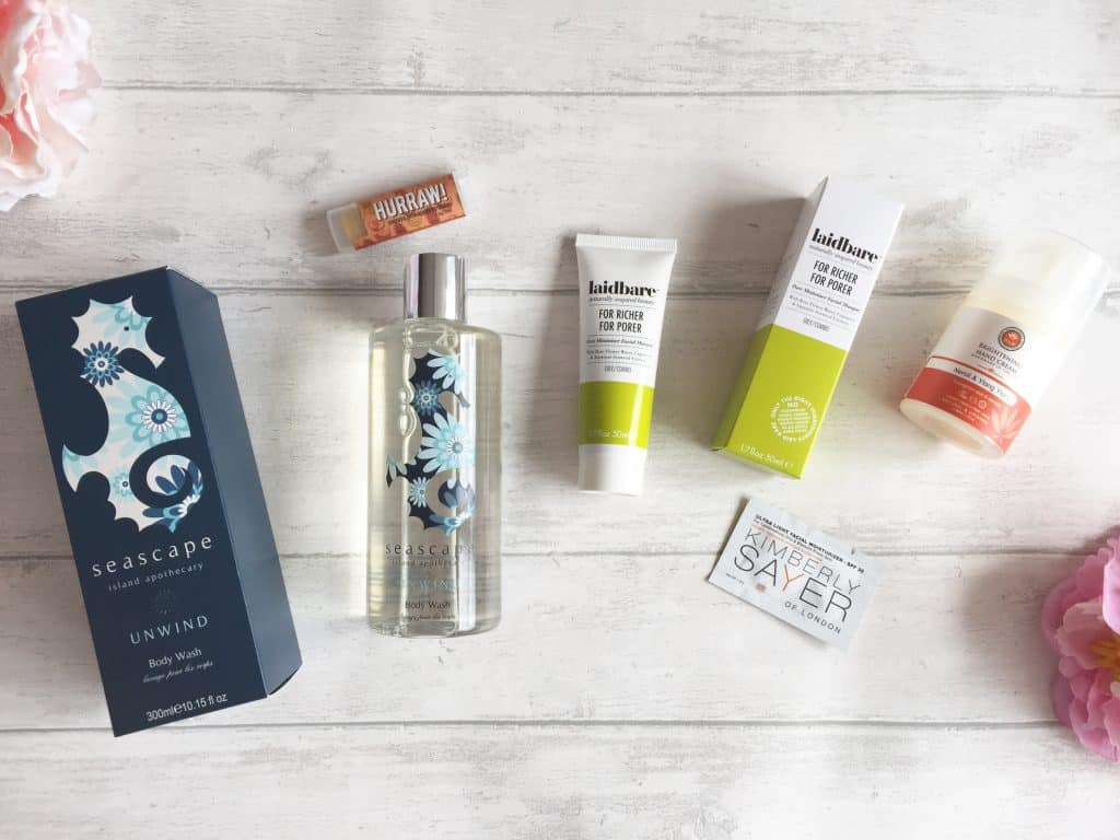 LoveLula Natural Beauty Box for March
