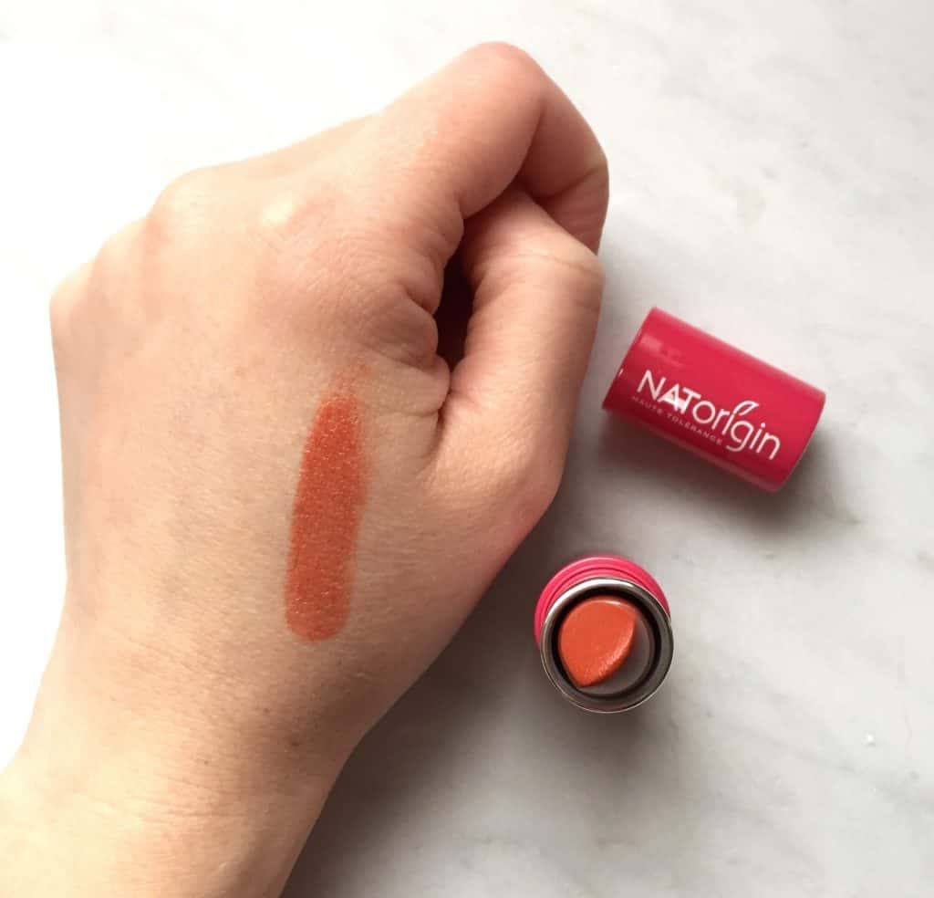 NATorigin Organic Lipstick Coral on hand