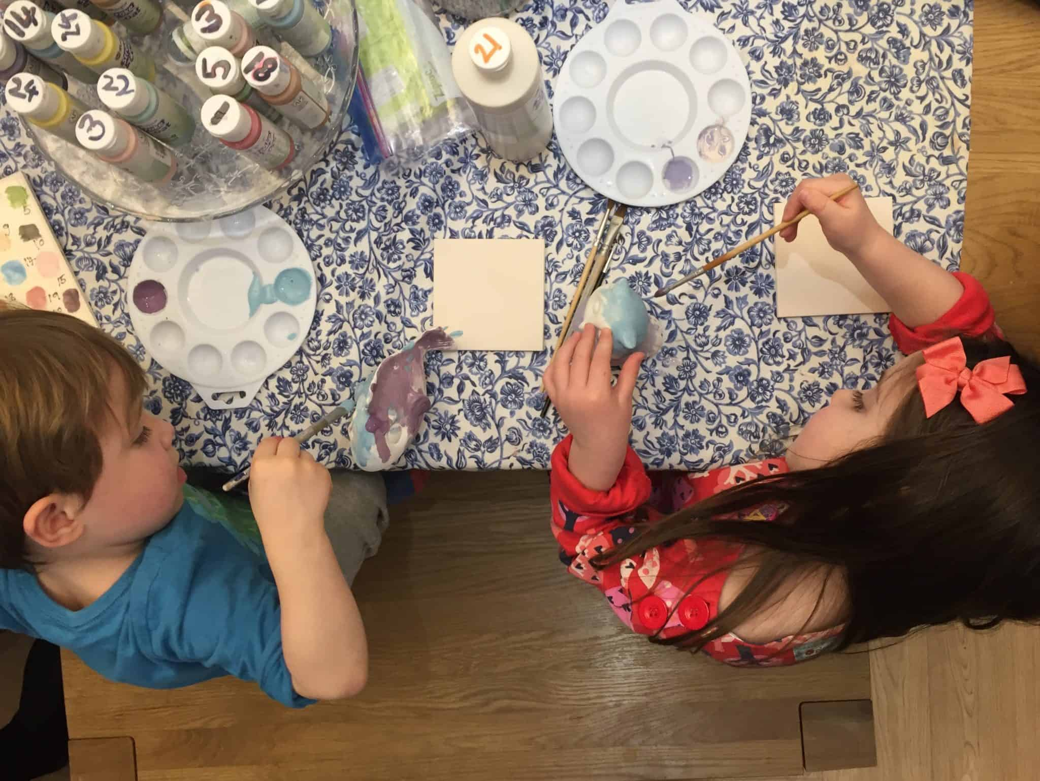Painting Pottery at Kilning Me Softly