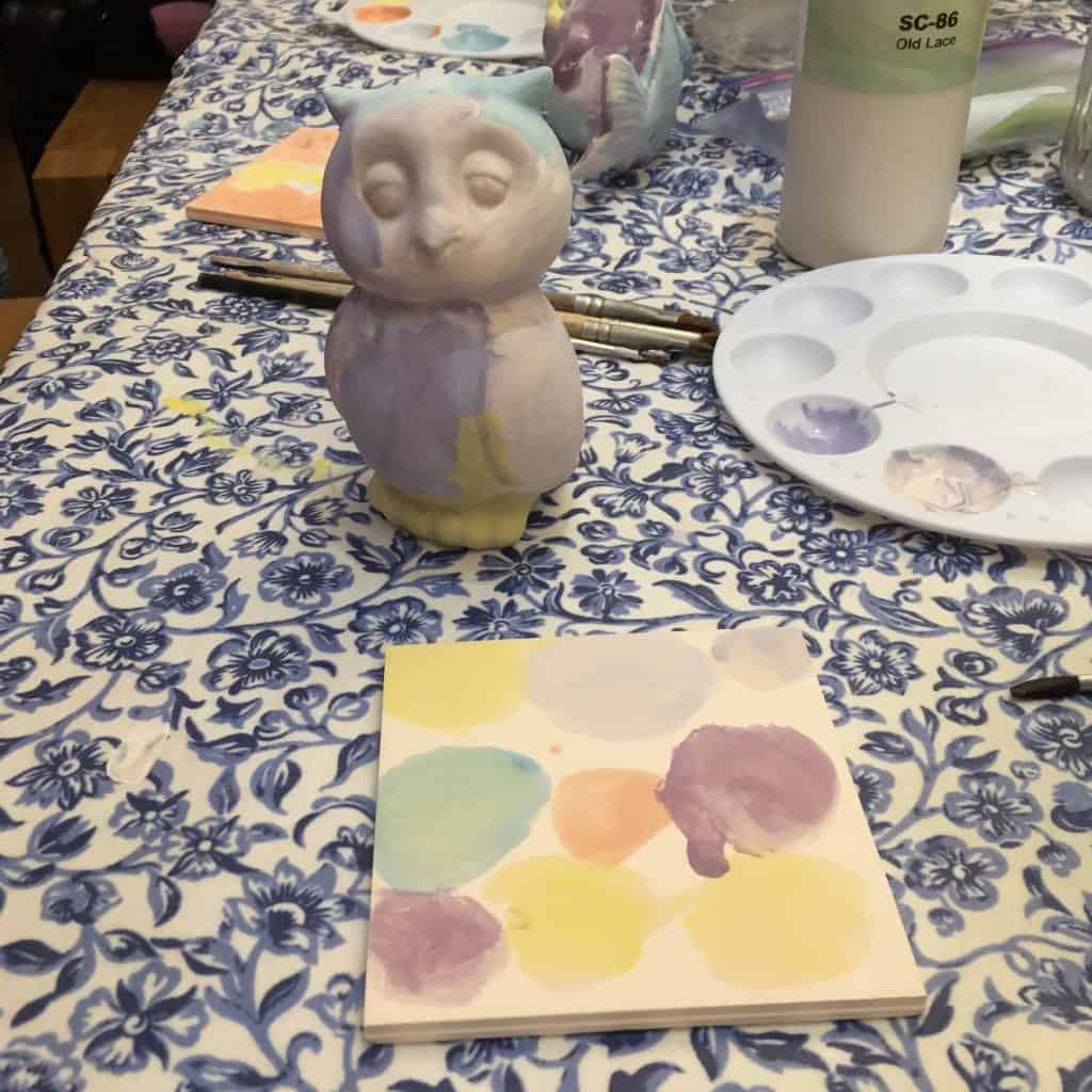 Thea's painted pottery