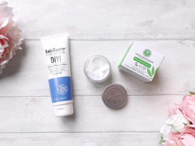 Love Lula Beauty Box Laidbare Facial Wash and PHB Ethical Beauty Moisturiser