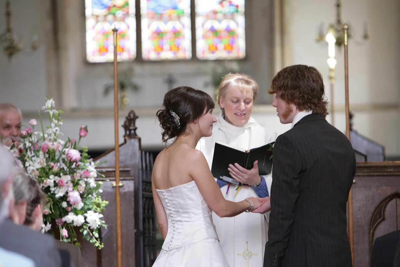 Making wedding vows