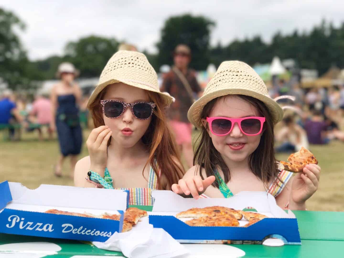 Ava and Thea's July: The Last Week of School, Latitude Festival and Camping