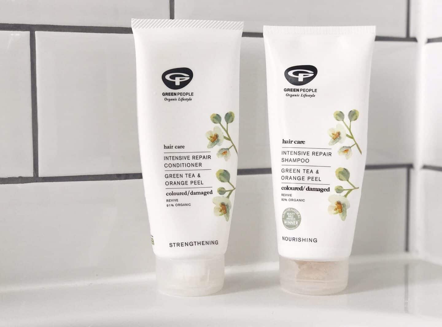 Green People Intensive Repair Shampoo & Conditioner Review