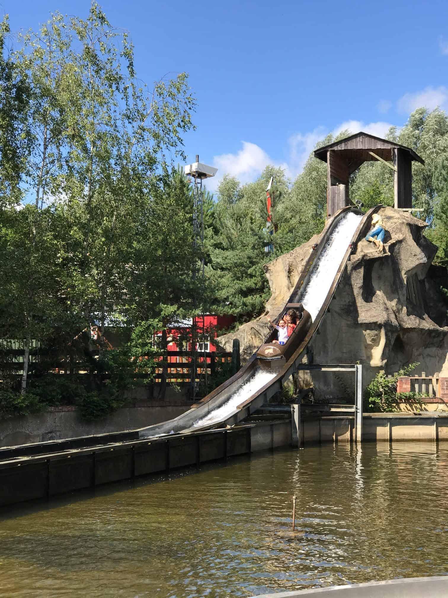 Gulliver's Land Theme Park Milton Keynes Log Flume