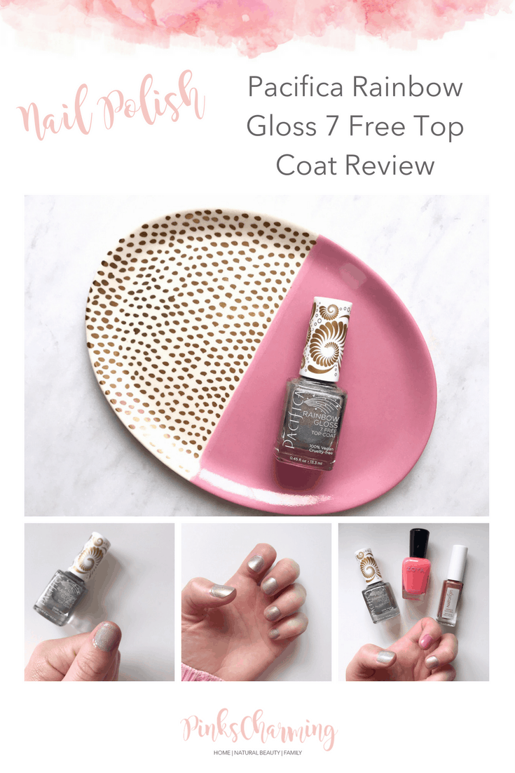 Pacifica Rainbow Gloss 7 Free Top Coat Review