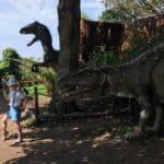Running from dinosaurs