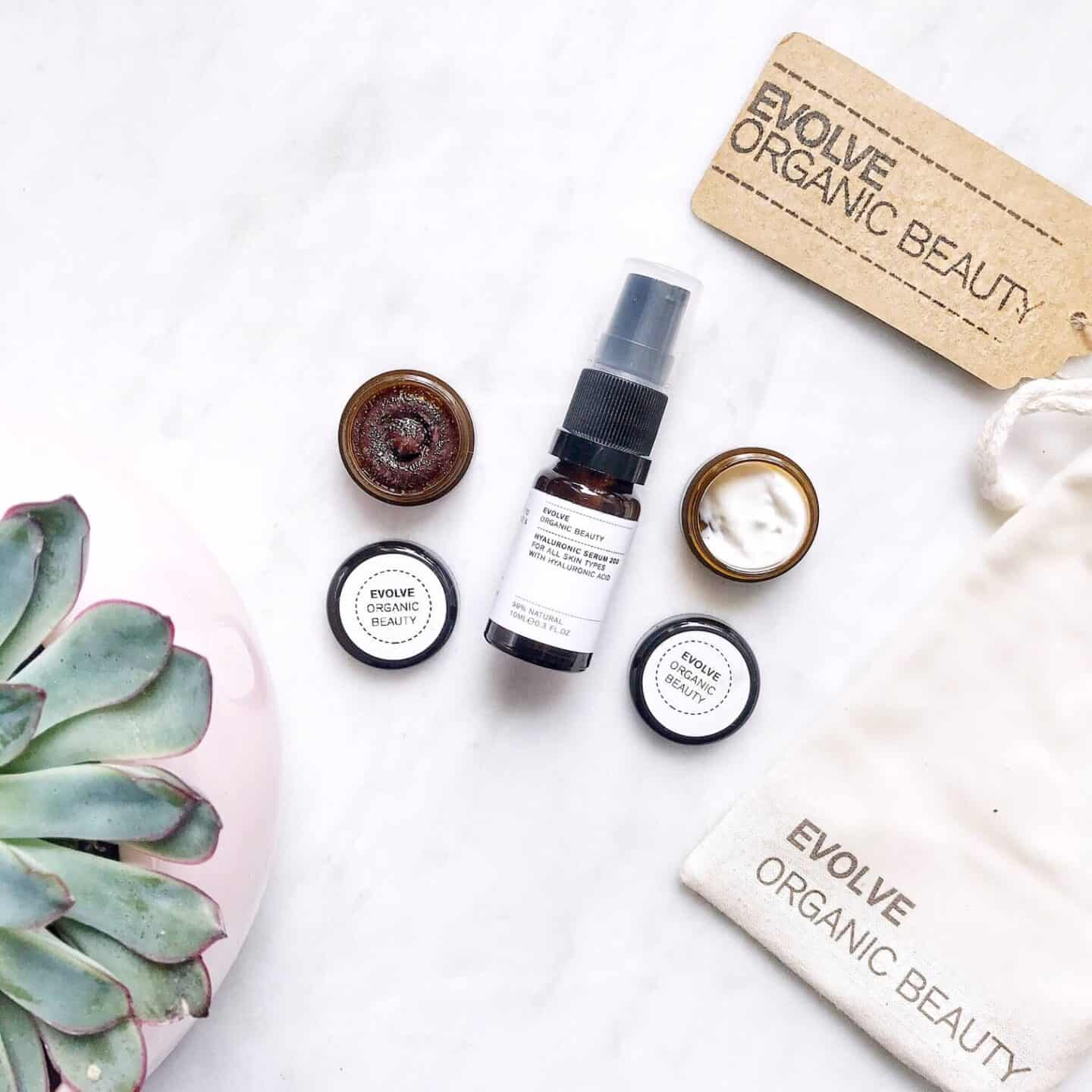Evolve Organic Beauty Skincare Trial Set Review
