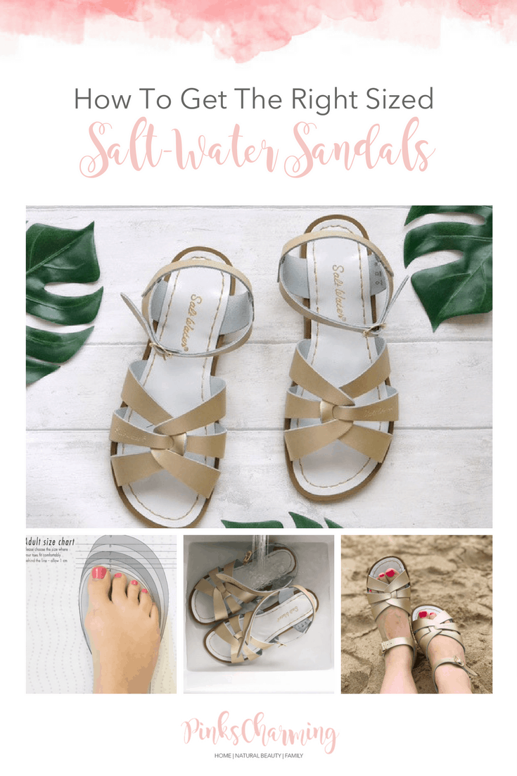How To Get The Right Sized Salt-Water Sandals