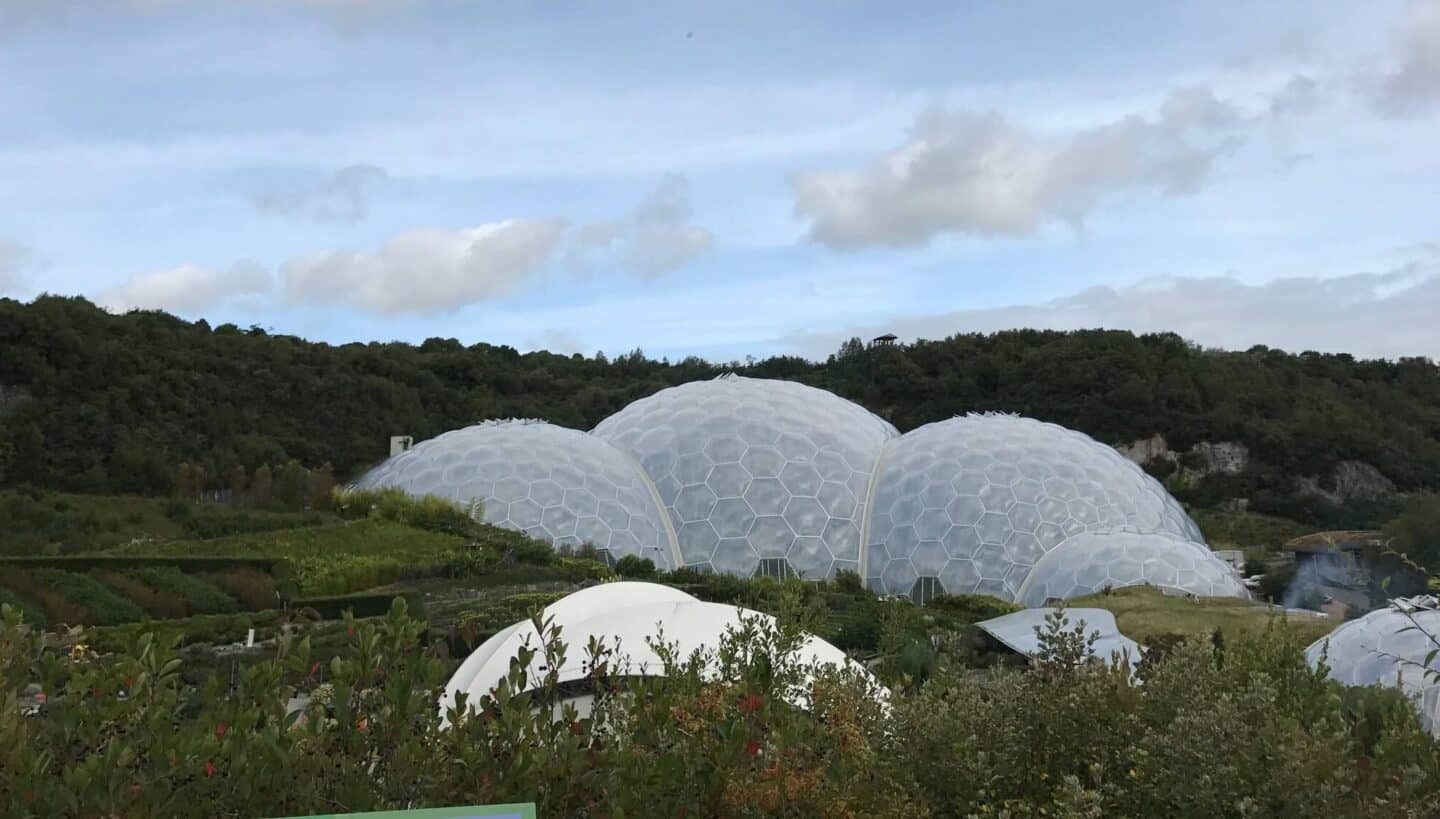 Visiting The Eden Project in Cornwall with Kids