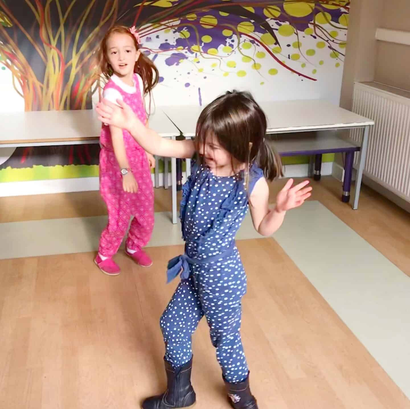 Dancing at DLKids