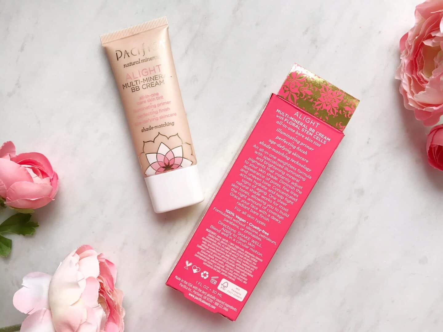 How To Get a Natural Base in Three steps with Pacifica BB Multi-Mineral BB Cream