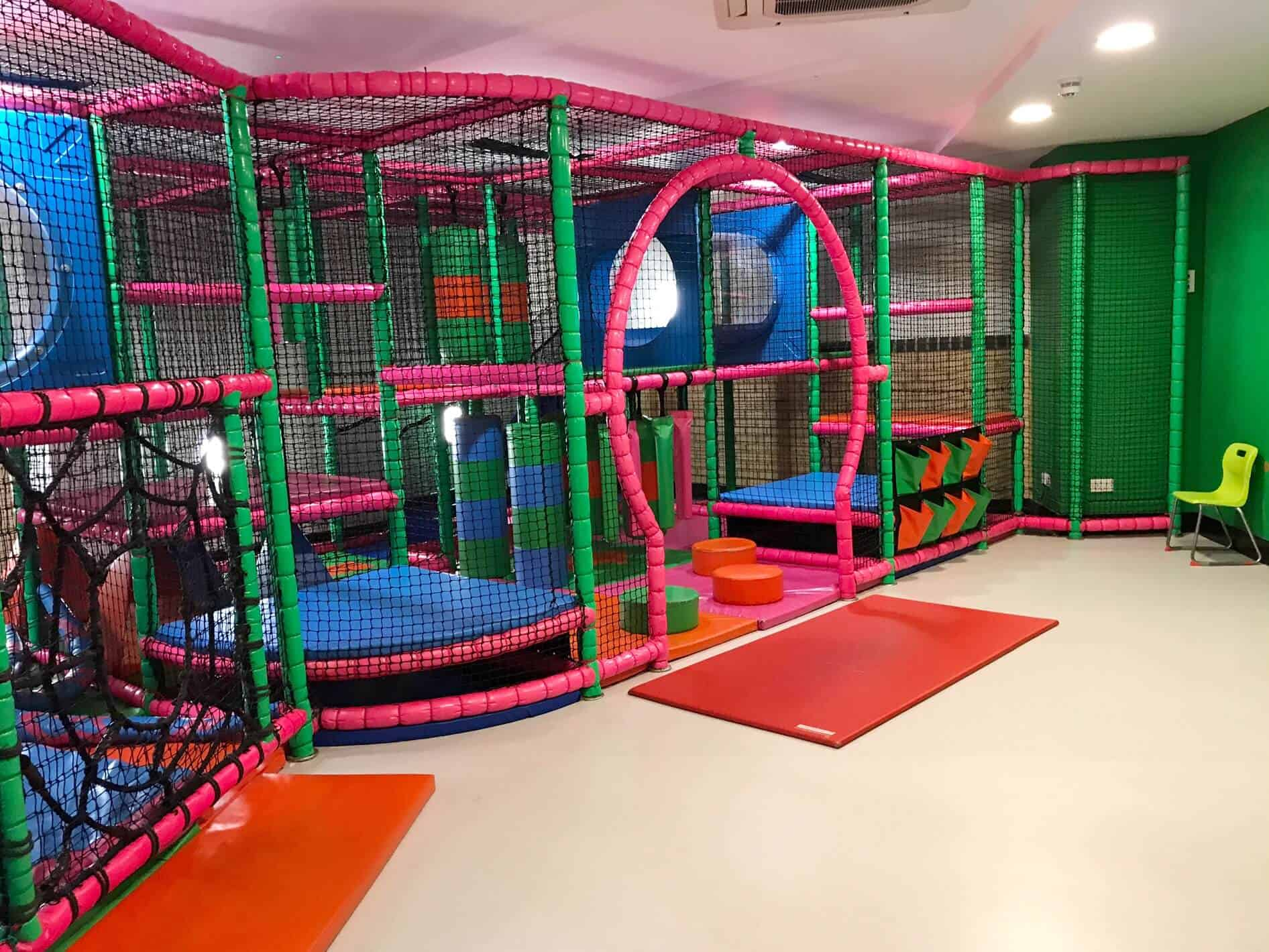 Soft Play at David Lloyd in Milton Keynes