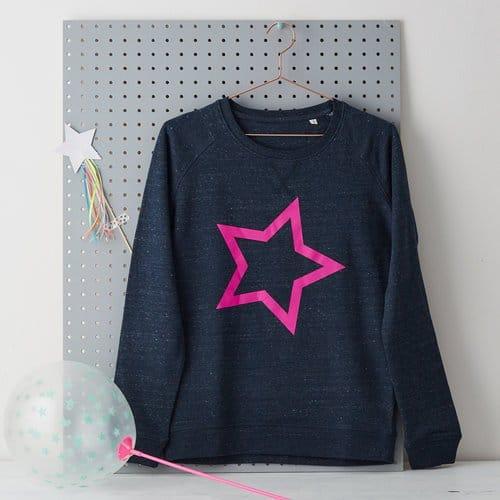 LaLa & Bea star sweatshirt