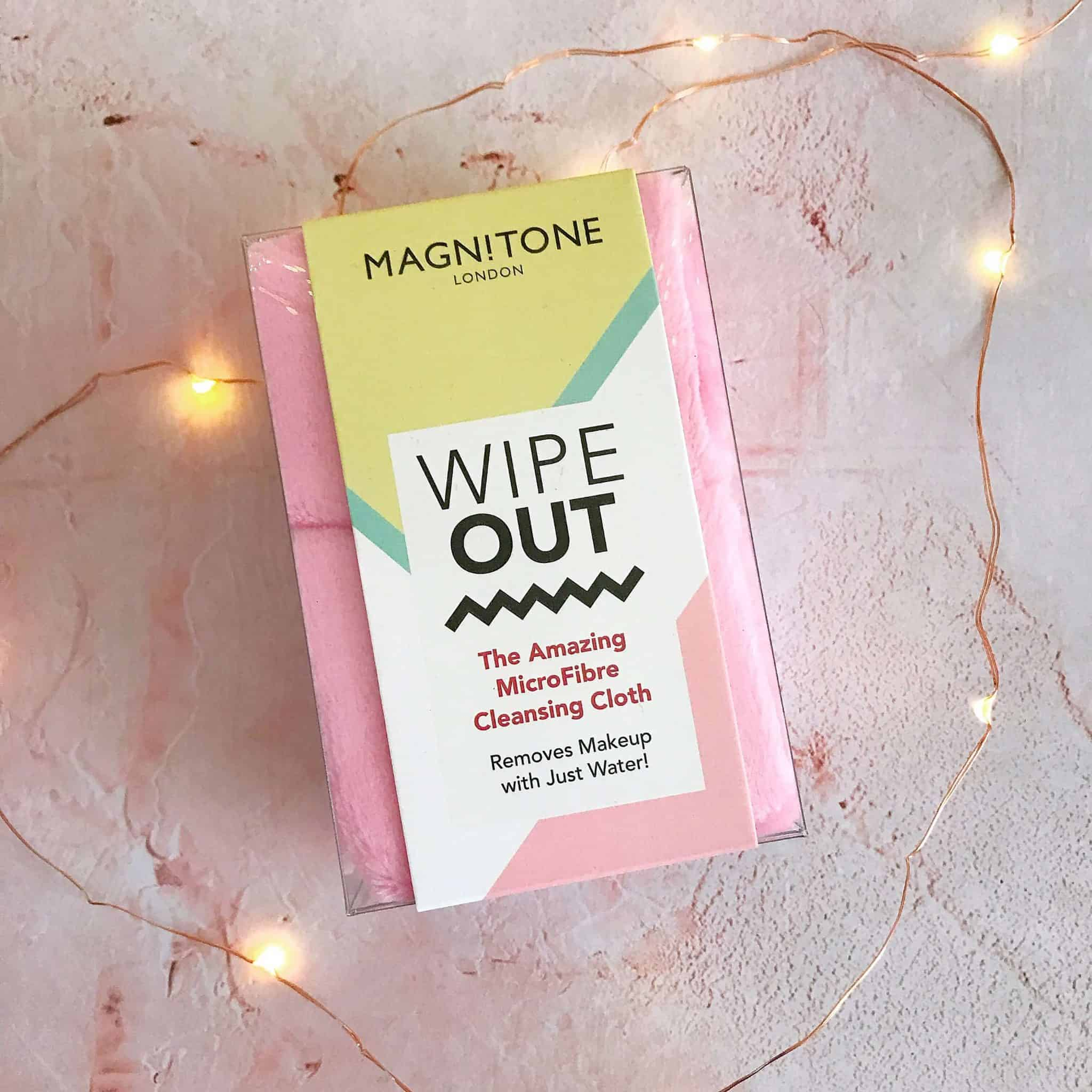Magnitone Wipe Out MicroFibre Cleansing Cloth - a great ethical gift for her