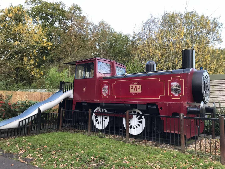 Play park train
