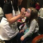 Snazaroo face painting at KidZania