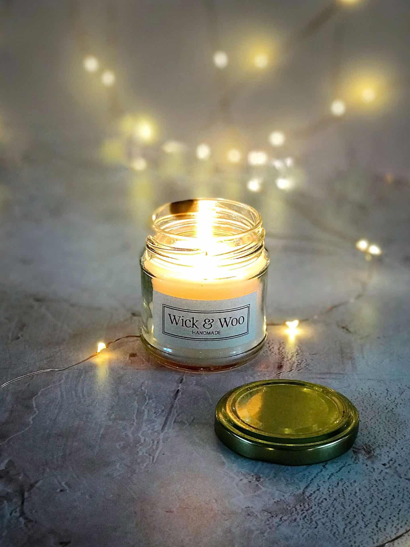 Wick & Woo ethical candle