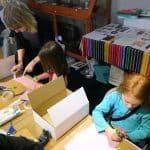 Art workshop at The Cowper and Newton Museum