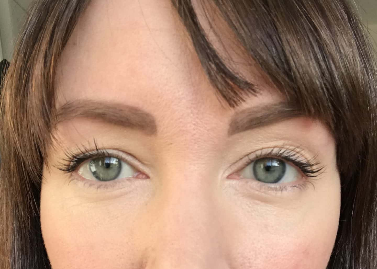 Disguise Dark Undereye Circles and distract with mascara
