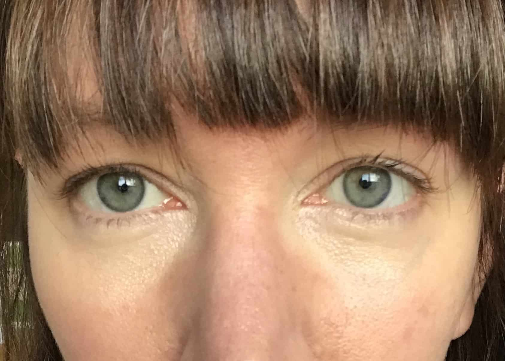 First layer of concealer to disguise dark undereye circles