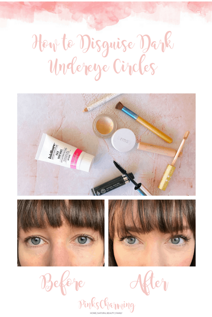 How To Disguise Dark Undereye Circles with Natural Make-up