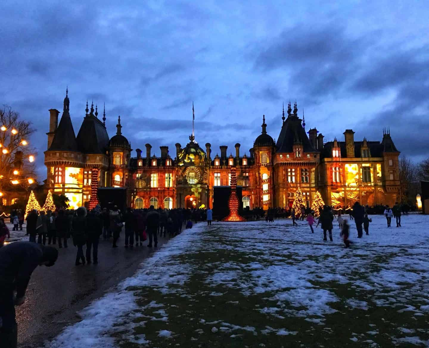 Magical Waddesdon Manor at Christmas