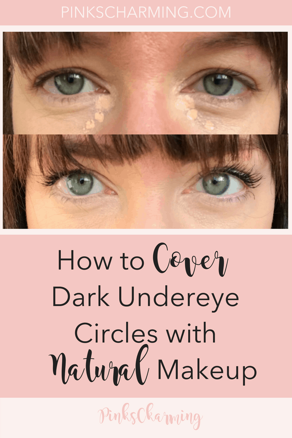 Under eye dark circles concealer tips. How to use natural makeup products to cover up undereye bags. #beautytips #makeup #naturalbeauty