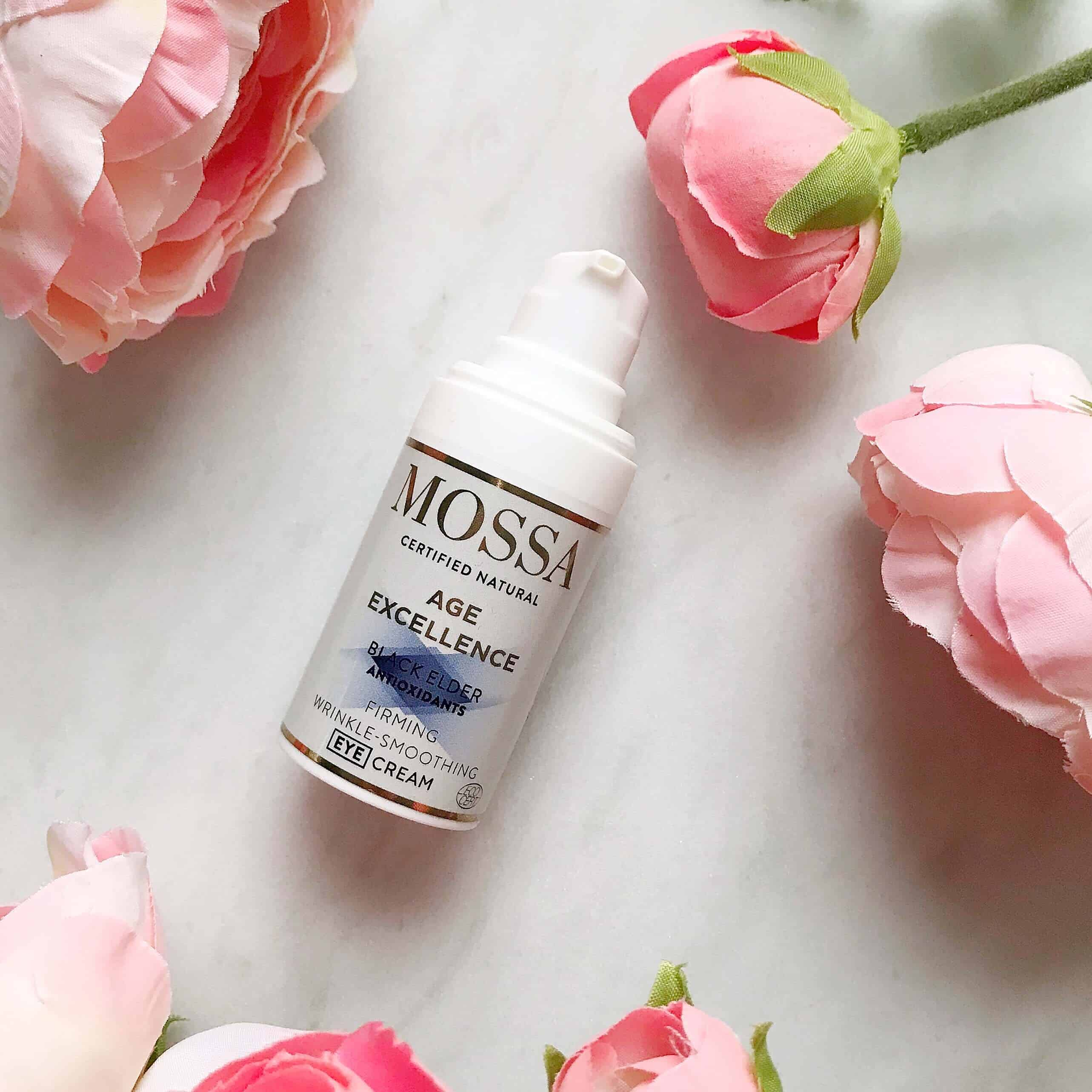 Mossa Organic Skincare: Age Excellence Firming Wrinkle Smoothing Eye Cream
