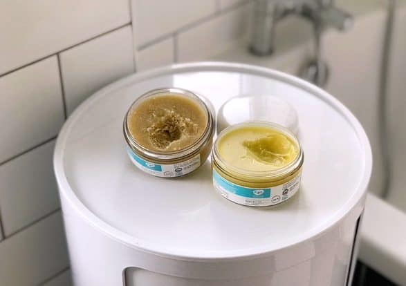 February Fixers: Green People Sugar Scrub and Body Butter dry skin saviours