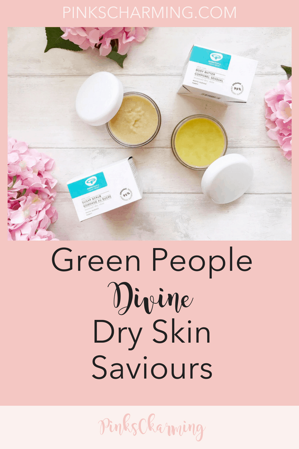 Green People Dry Skin Saviours: Organic Sugar Scrub and Body Butter