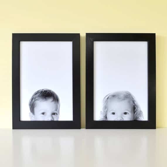 Hello Ruth Peeping Portrait makes the perfect Mother's Day gift