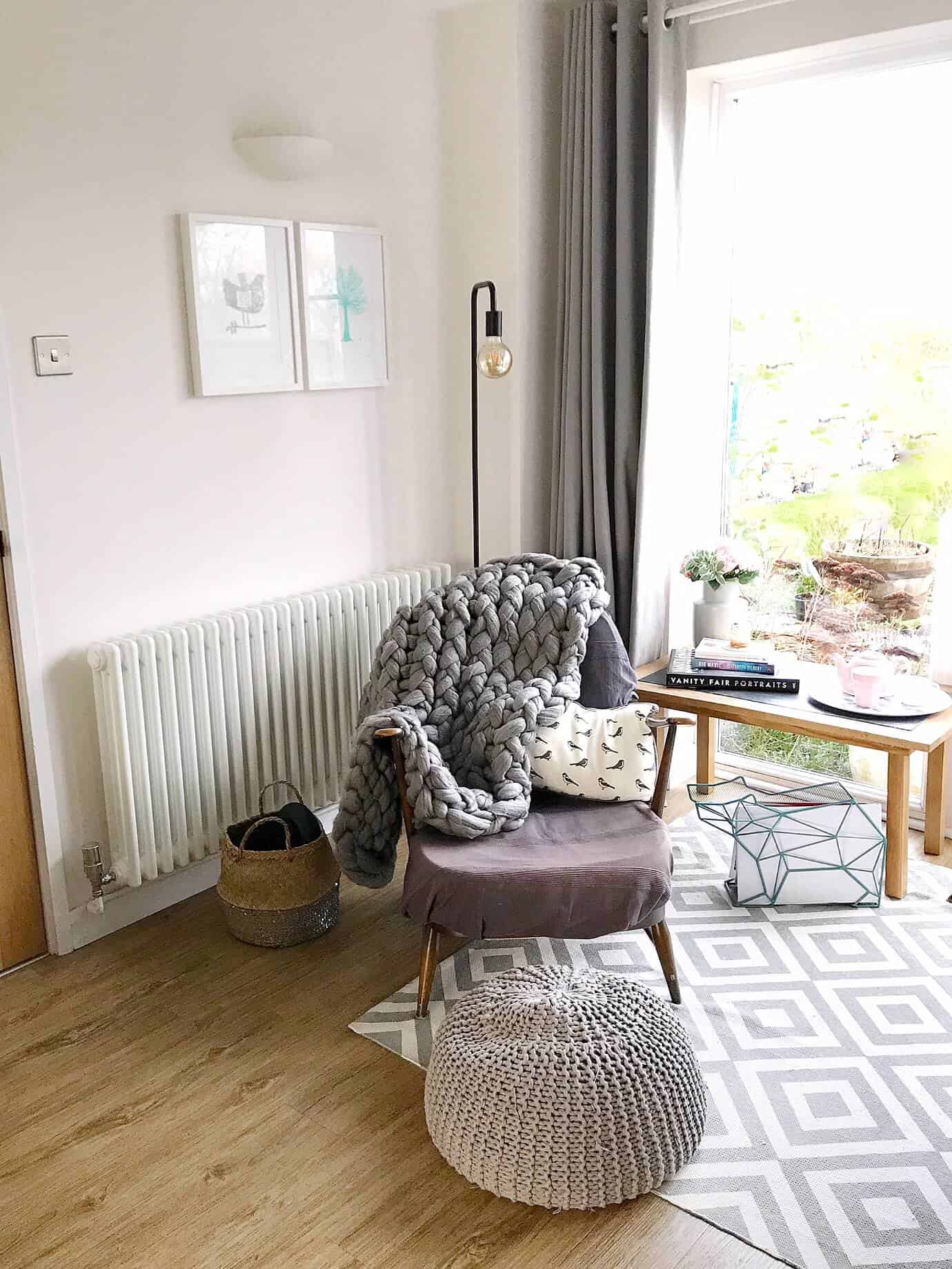 Our cosy reading nook