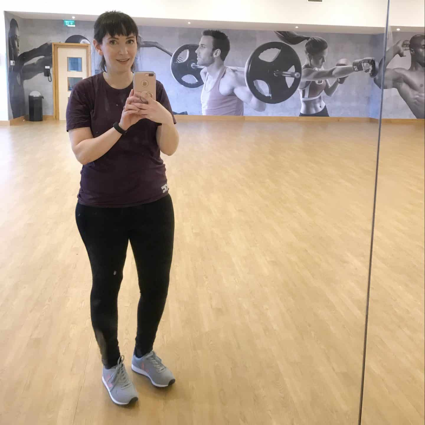 Post Body Jam Selfie: exercise with David Lloyd