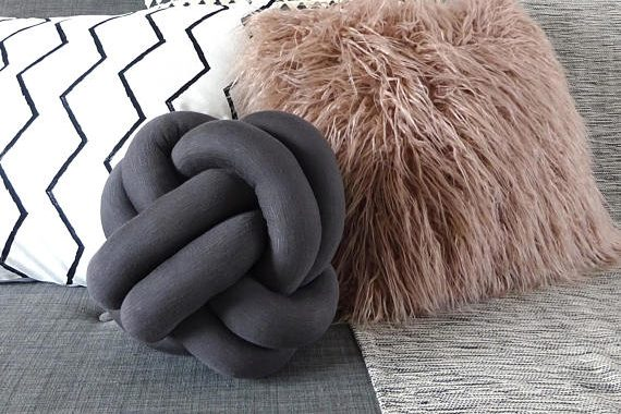 TheRoomAlive Knot Cushion