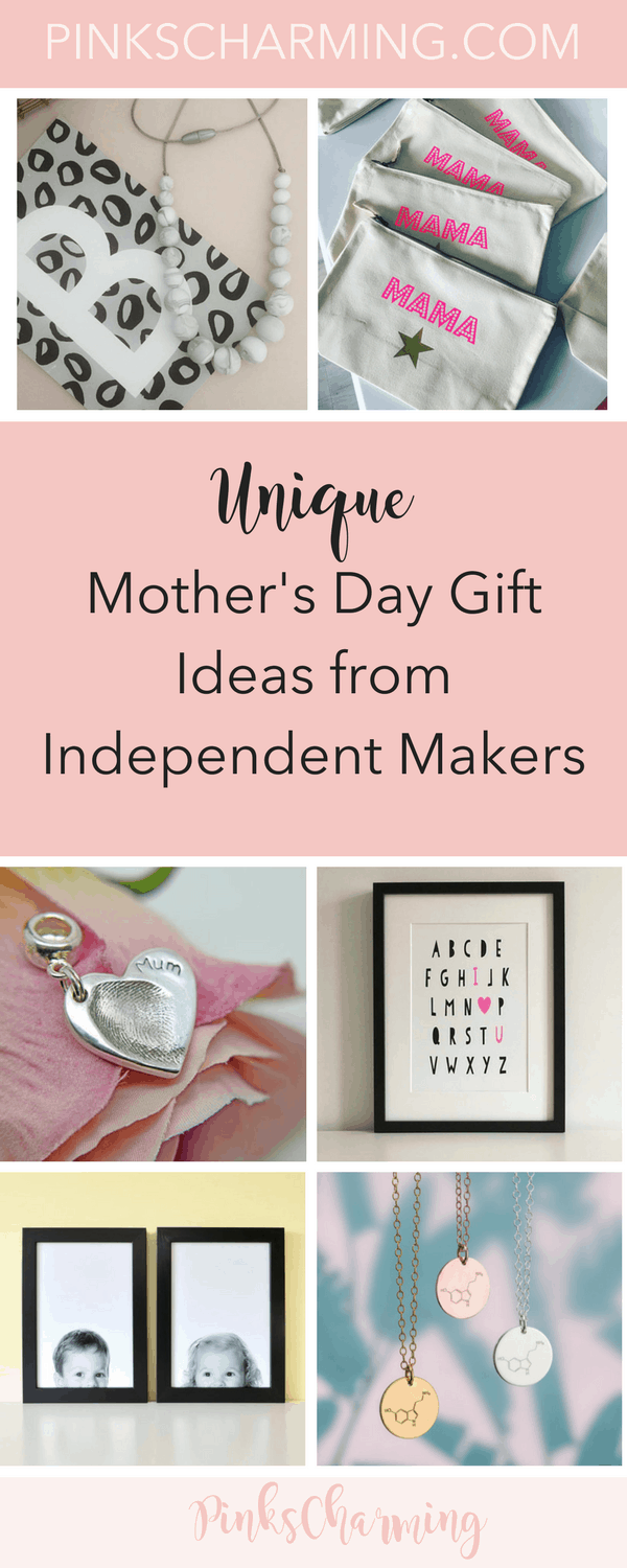 Unique, Personalised Mother's Day Gift Ideas from Independent Makers