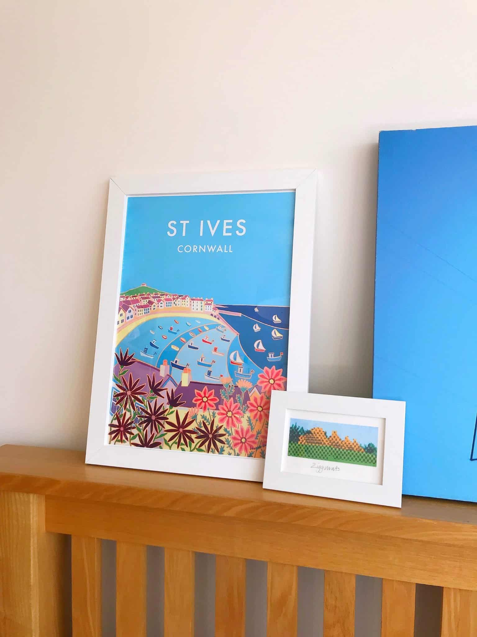Bringing happy memories of Cornwall into our home