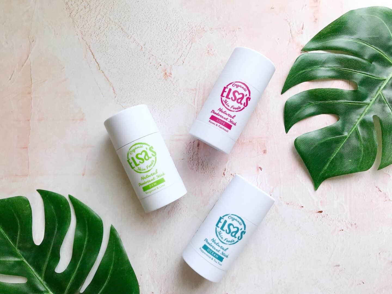 A 100% Natural Deodorant That Works? Meet Elsa's Organic Skinfoods