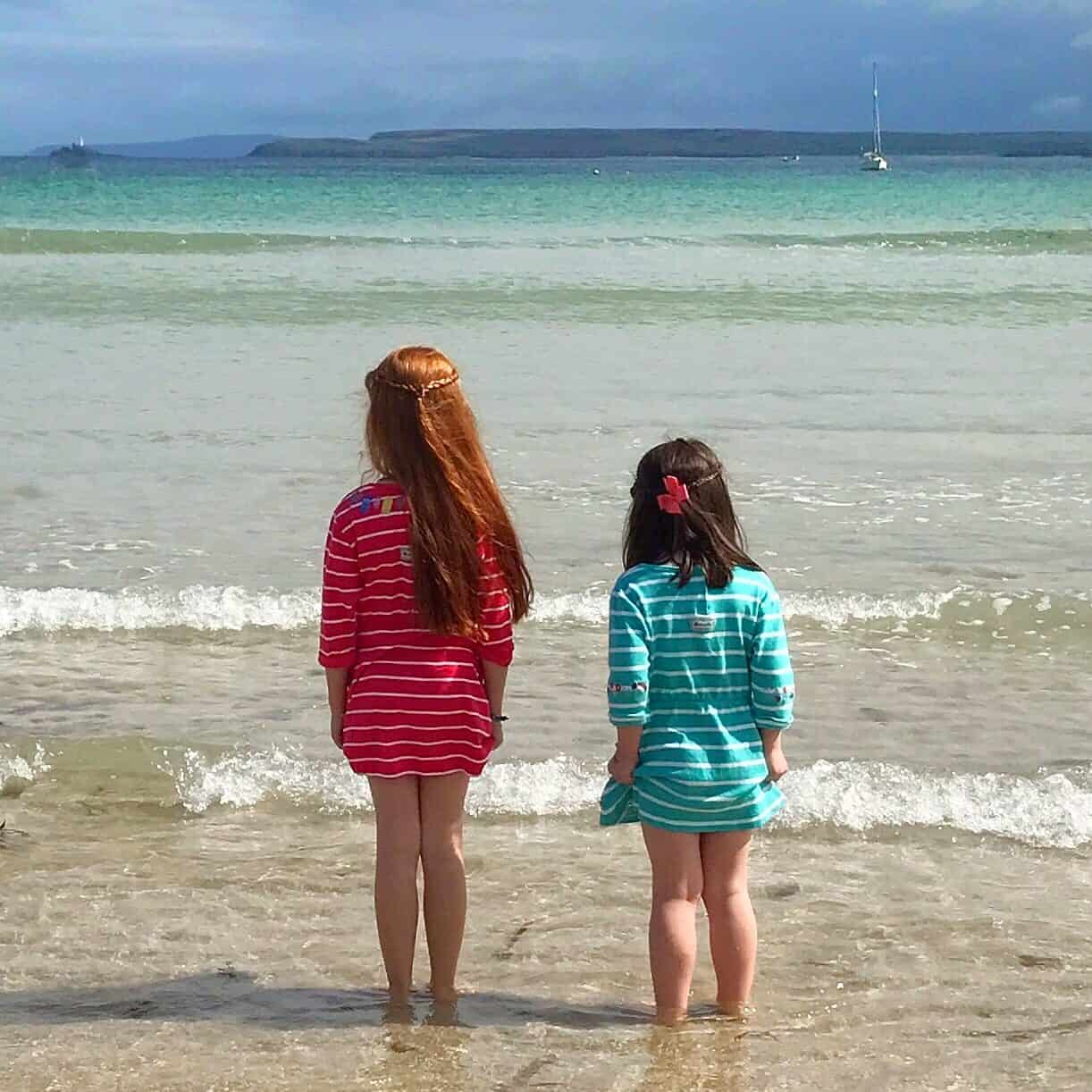 Watching the sea in St Ives