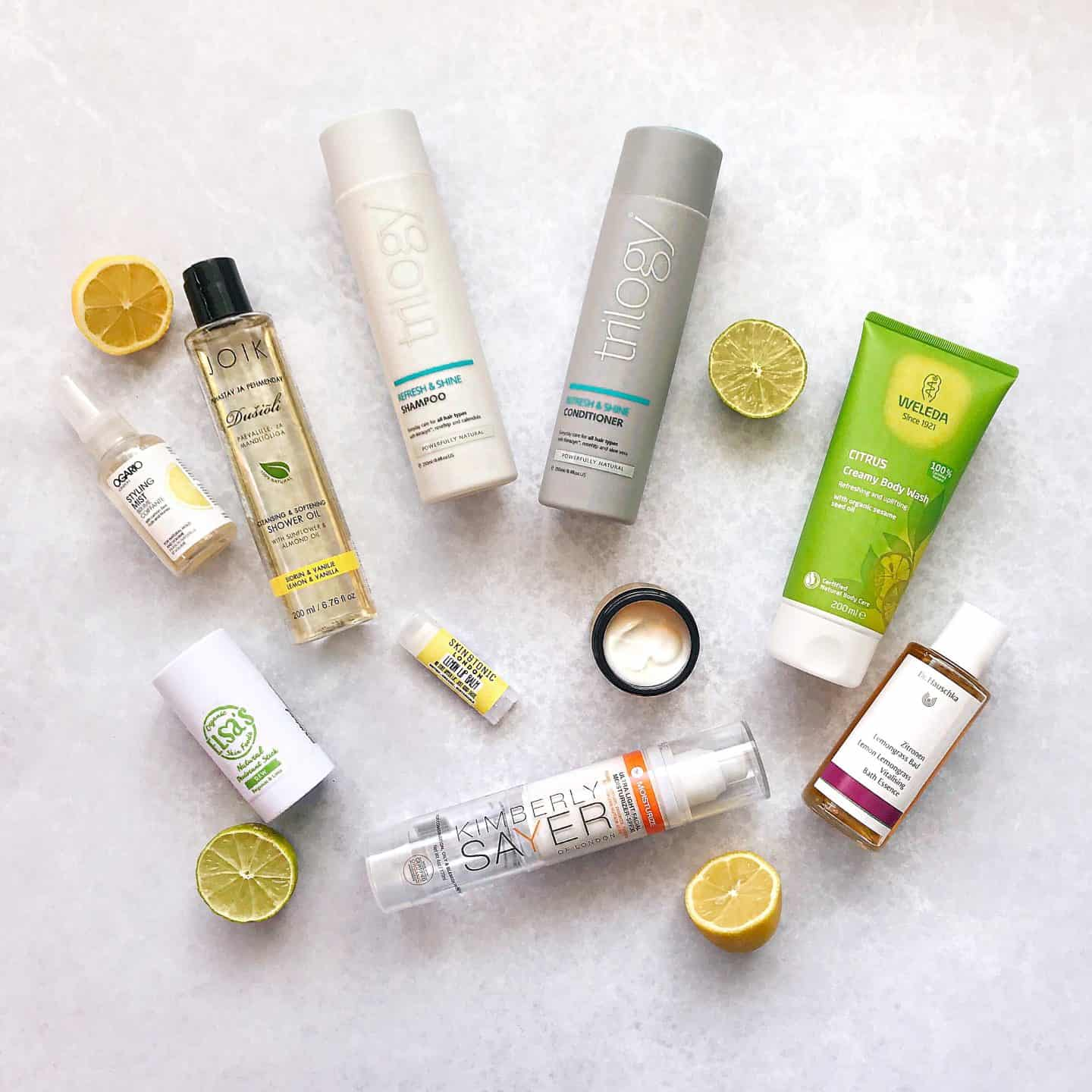 Get a Citrus Zing for Spring with Natural Skincare and Haircare