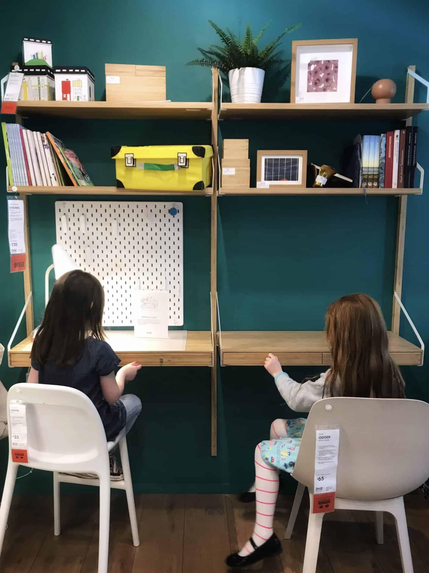 Ikea Bamboo Svalnas double desk