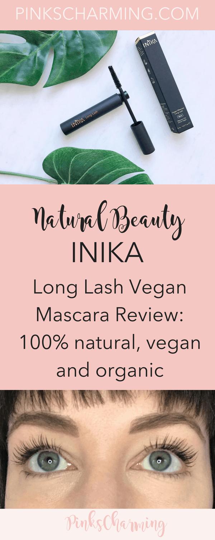 Inika Long Lash Vegan Mascara Review: this 100% natural, vegan and organic mascara could be the ultimate natural mascara