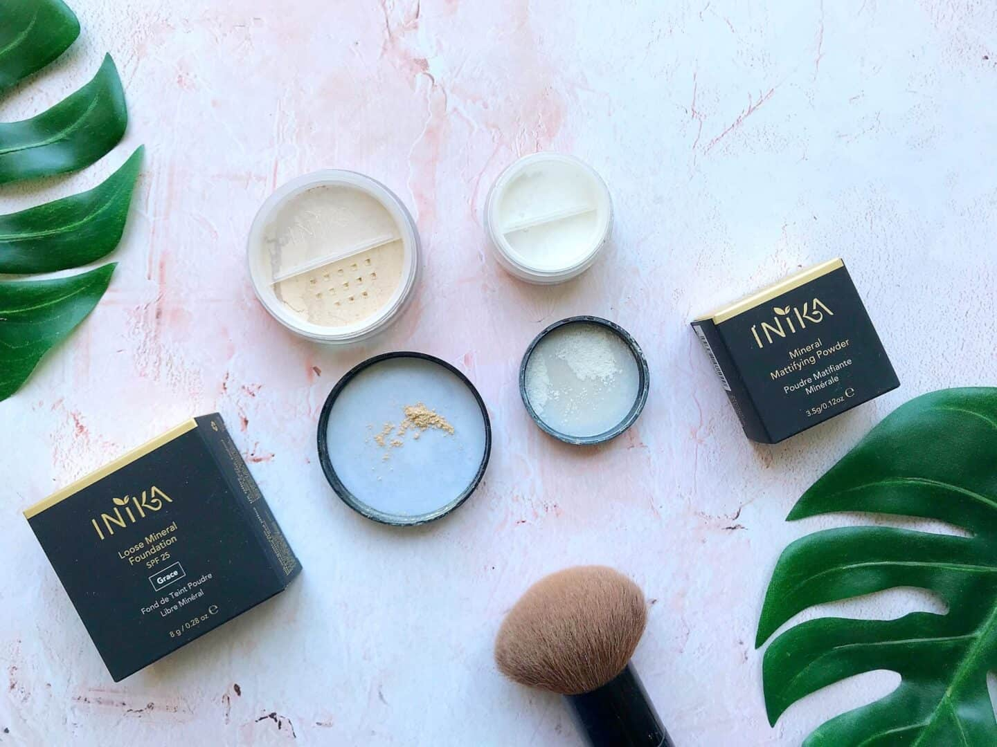 Complexion Perfection with Inika Loose Mineral Foundation and Mineral Mattifying Powder