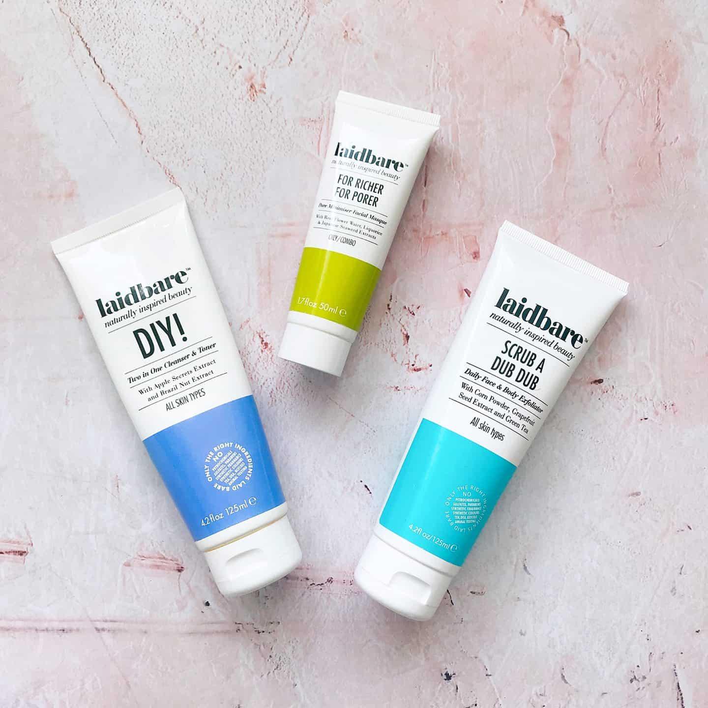 Laidbare clean facial skincare review