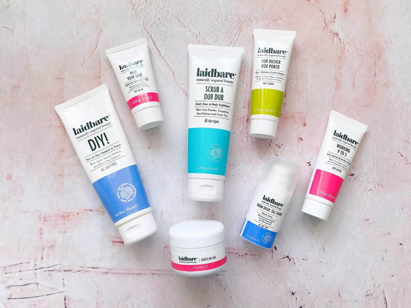 Natural Brand Focus: Laidbare Naturally Inspired Skincare