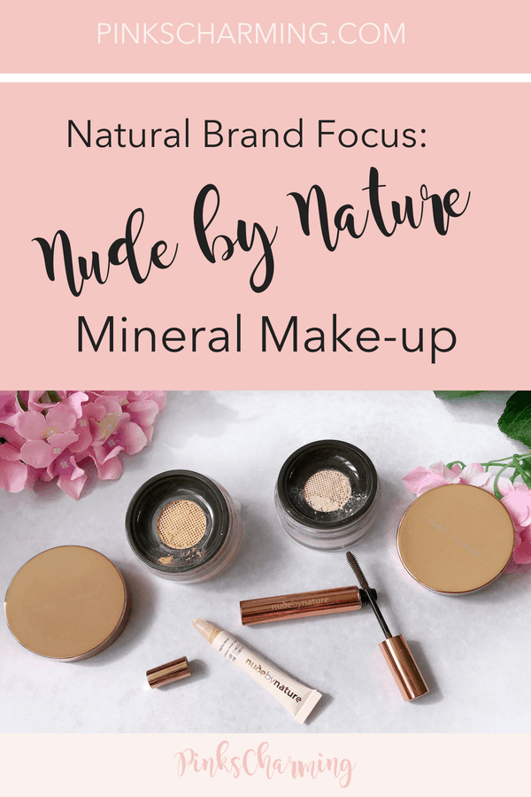 Natural Brand Focus - Nude by Nature Mineral Makeup Review