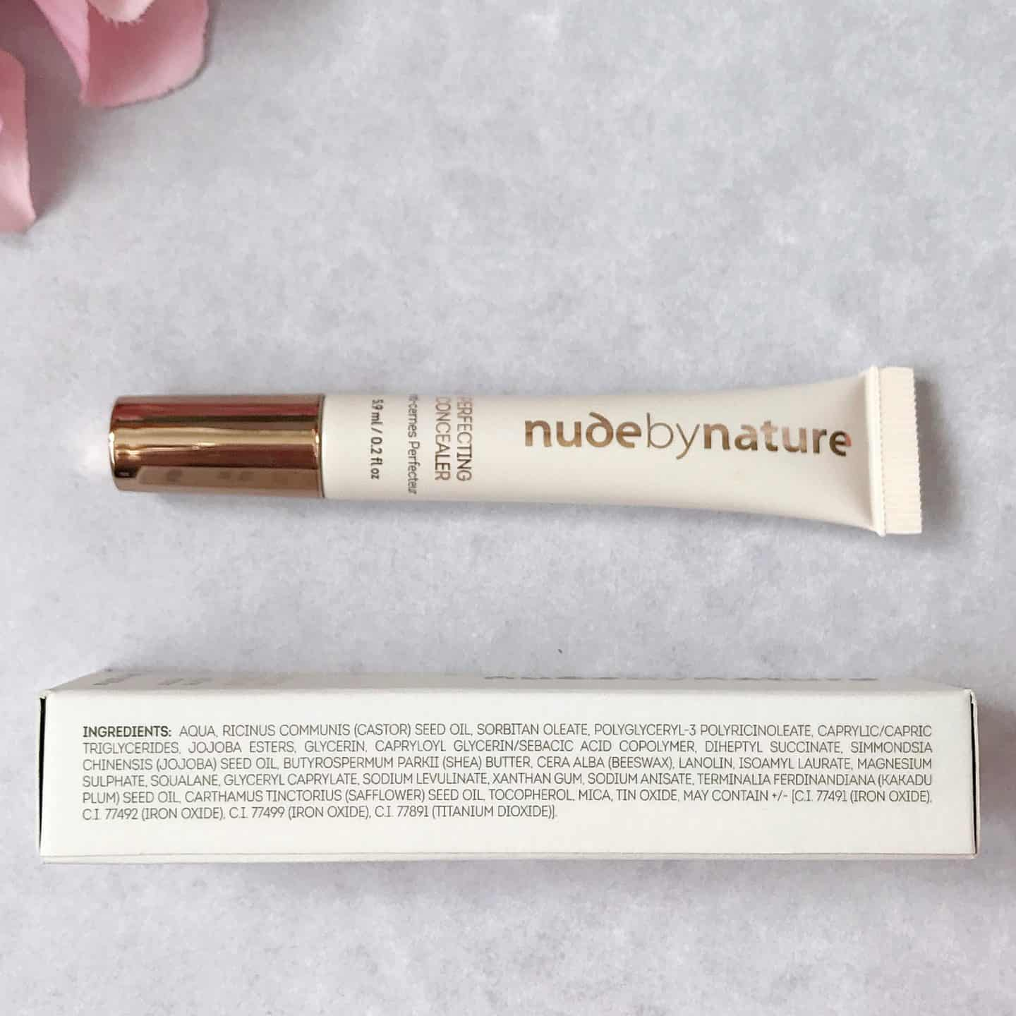 Nude by Nature Perfecting Concealer ingredients