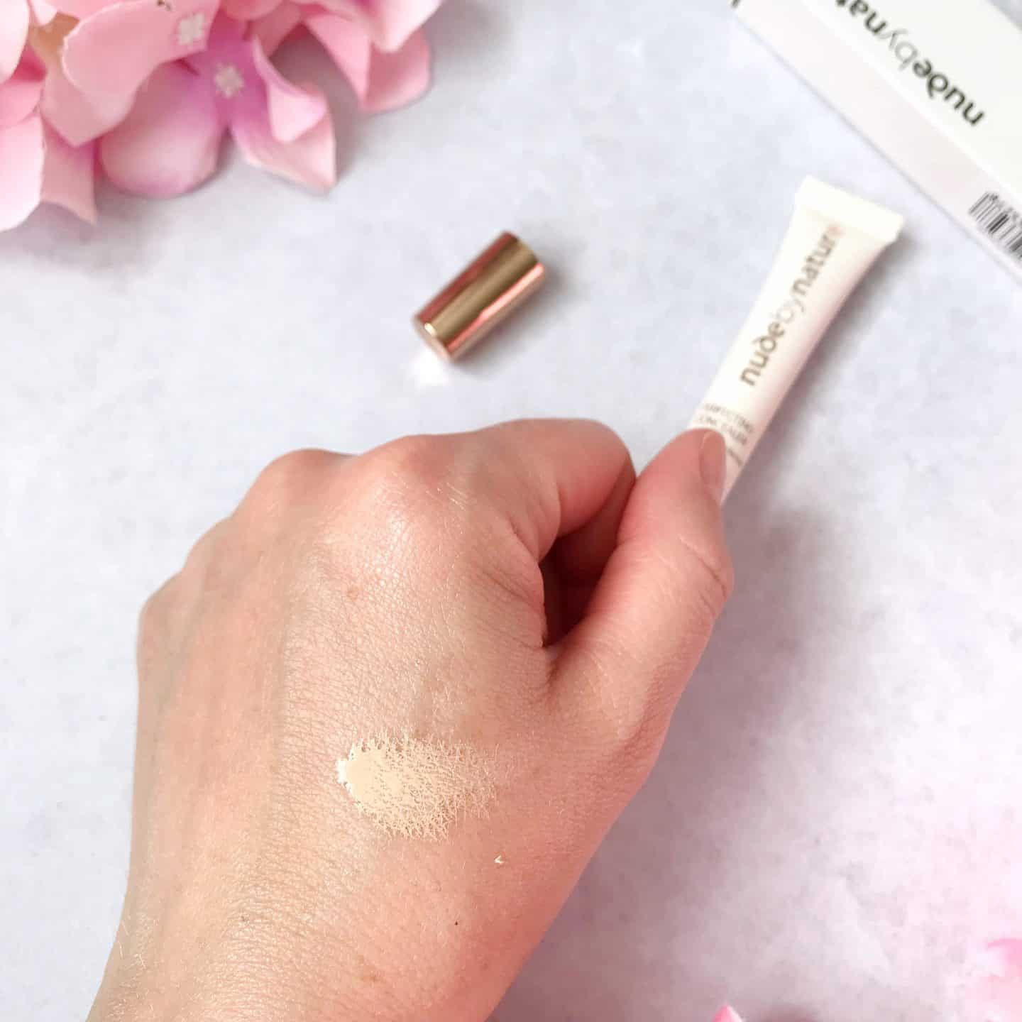 Nude by Nature Perfecting Concealer swatch